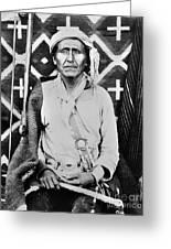 Navajo Shaman, C1880 Greeting Card