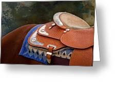 Navajo Silver And Basketweave Greeting Card