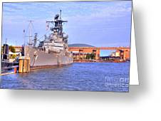 Naval Park Greeting Card