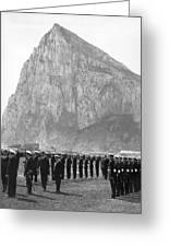 Naval Review At Gibraltar Greeting Card