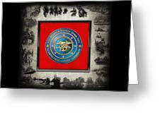 Naval Special Warfare Group Two - N S W G-2 - Over Navy S E A Ls Collage Greeting Card