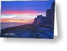 Navarre Beach Fl 2013 10 30 I Greeting Card