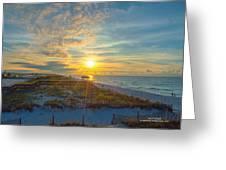 Navarre Beach Sunrise 2014 09 26 01 C 0650 Greeting Card