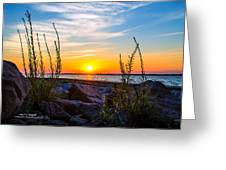 Navarre Fl Sunset 2014 07 29 A Greeting Card