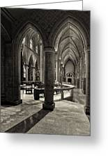 Nave Of St. Joseph Cathedral Greeting Card