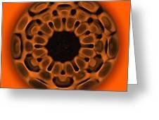 Navel Sacral Chakra Greeting Card