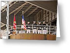 Navy Men Greeting Card
