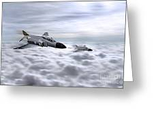Navy Phantoms Greeting Card