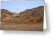 Nazca Desert Greeting Card
