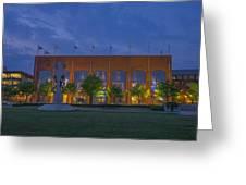 Ncaa Hall Of Champions Dusk Greeting Card