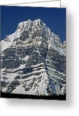 1m3645-ne Face Howse Peak-v Greeting Card