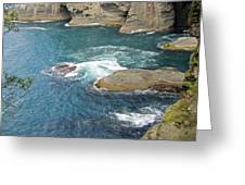 Neah Bay At Cape Flattery Greeting Card