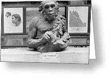 Neanderthal Museum Display, 1924 Greeting Card