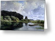 Near Friesland Greeting Card