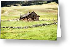 Near Helena Greeting Card by Marty Koch