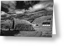Near The Hill Greeting Card