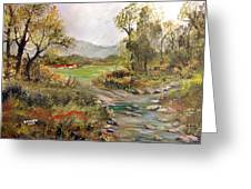 Near The River Greeting Card