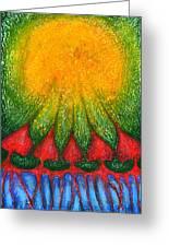 Nearer Sun Greeting Card