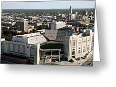 Nebraska Cornhuskers Stadium Lincoln Greeting Card