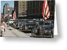 Nebraska Lincoln, 1942 Greeting Card