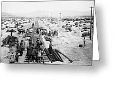 Nebraska Railroad Work Greeting Card