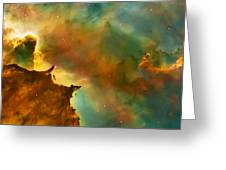 Nebula Cloud Greeting Card by Jennifer Rondinelli Reilly - Fine Art Photography
