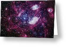 Nebula Ngc 1760, Optical Image Greeting Card