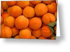 Nectarines Greeting Card