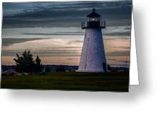 Ned's Point Light Greeting Card