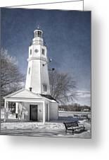 Neenah Lighthouse Greeting Card