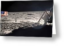 Neil Armstrong On The Moon - 1969 Greeting Card