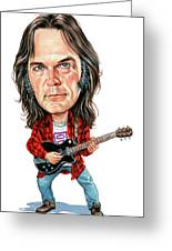 Neil Young Greeting Card by Art