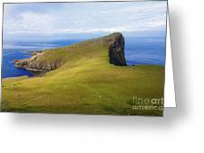 Neist Point  Greeting Card by Diane Macdonald
