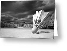 Nelson Akins Art Museum In Infrared Greeting Card