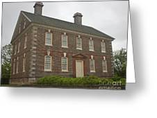 Nelson House Yorktown Greeting Card