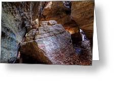 Nelson Kennedy Ledges Greeting Card