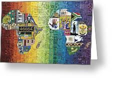 Nelson Mandela Greeting Card
