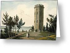 Nelsons Tower, Forres, From A Voyage Greeting Card