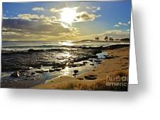 Neneu Sunset Greeting Card