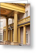Neo Classical Columns Greeting Card by Barbara McMahon