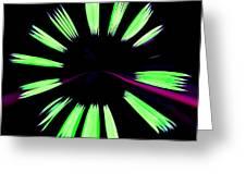 Neon Dreams Greeting Card