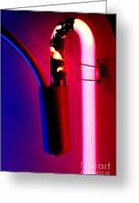 Neon Glow Greeting Card