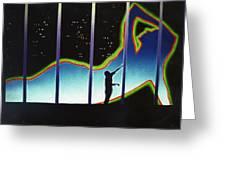 Neon Life Greeting Card