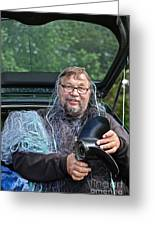 Neptun . Doctor Andrzej Goszcz .   Greeting Card by  Andrzej Goszcz