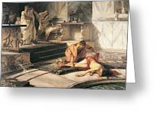 Nero And Agrippina Greeting Card