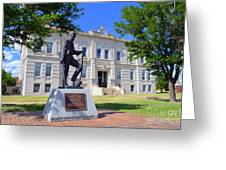 Ness County Courthouse In Kansas Greeting Card