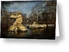 Nessie Grand Rapids Darling Greeting Card