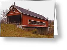 Netcher Road Covered Bridge Greeting Card