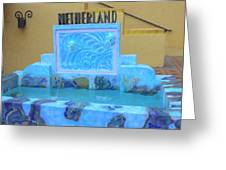 Netherland Fountain Greeting Card