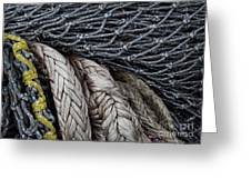 Nets And Knots Number Two Greeting Card